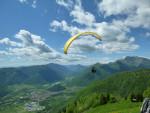 Paragliding-slovenie-start