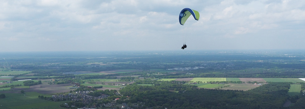 tandemvlucht paragliding proefles